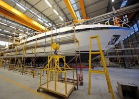 suivi de construction de yacht