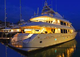 maintien en service de Yacht